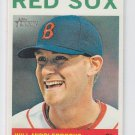 Will Middlebrooks Baseball Trading Card 2013 Topps Heritage #60 Red Sox