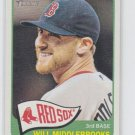Will Middlebrooks Baseball Trading Card 2014 Topps Heritage #289 Red Sox