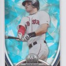 Will Middlebrooks Blue Sapphire Trading Card 2013 Bowman Platinum #60 Red Sox