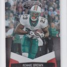 Ronnie Brown Mirror Red Parallel SP 2010 Panini Certified #81 Dolphins 056/250