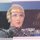 Sela Foil Embossed Trading Card 1996 Skybox Star Trek #S30  *ED