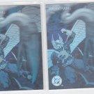 Hawkman DC Cosmic Teams Hologram lot of (2) 1993 Skybox #DCH12 *ED