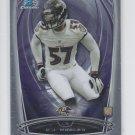 C.J. Mosley RC Trading Card Single 2014 Bowman Chrome 124 Ravens