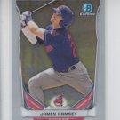 James Ramsey Top Prospect Trading Card 2014 Bowman Chrome Draft CTP68 Indians
