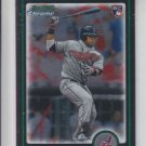 Carlos Santana RC Trading Card Single 2010 Bowman Chrome Draft #BDP69 Indians