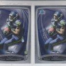 Paul Richardson RC Trading Card Lot of (2) 2014 Bowman Chrome 163 Seahawks
