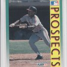 Wayne Kirby RC Baseball Trading Card 1992 Fleer #670 Indians