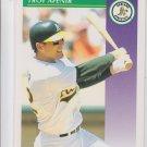 Troy Afenir Baseball Trading Card 1992 Score #407 Athletics