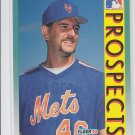 Terry Bross Baseball Trading Card 1992 Fleer #653 Mets