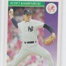 Scott Kamieniecki Baseball Trading Card 1992 Score #415 Yankees