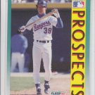 Rob Maurer Corrected Error Baseball Trading Card 1992 Fleer #659B Rangers