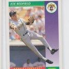 Joe Bedfield Baseball Trading Card 1992 Score #412 Pirates