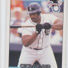 Cecil Fielder AS Baseball Trading Card 1992 Donruss #27 Tigers