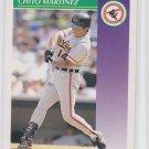 Chito Martinez Baseball Trading Card 1992 Score #400 Orioles