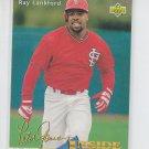 Ray Lankford Baseball Trading Card 1993 Upper Deck #461 Cardinals