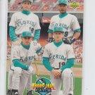 Magadon/Destrade/Barberie/Conine 1993 Upper Deck #479 Marlins