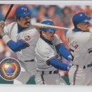 Eddie Murray Howard Johnson Bobby Bonilla 1993 Upper Deck #484 Mets