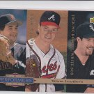 John Burkett Tom Glavine Jack McDowell Performers 1994 Upper Deck #306 Braves