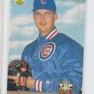 Derek Wallace RC Baseball Trading Card Single 1993 Upper Deck #429 Cubs