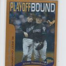 Arizona Diamondbacks Playoff Bound Trading Card Single 2001 Topps #353