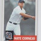 Nate Cornejo Baseball Trading Card Single 2002 Topps Heritage #80 Tigers