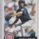 Juan Cruz Baseball Trading Card Single 2002 Topps Heritage #50 Cubs