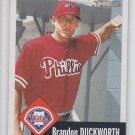 Brandon Duckworth Baseball Trading Card Single 2002 Topps Heritage #73 Phillies