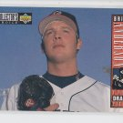 Brian Anderson RC Trading Card 1993 Upper Deck Collector's Choice #21 Angels