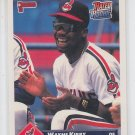 Melvin Nieves Rated Rookie Trading Card 1993 Donruss #320 Braves
