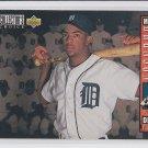 Matt Brunson RC Trading Card 1993 Upper Deck Collector's Choice #27 Tigers