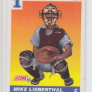 Mike Lieberthal RC Baseball Trading Card 1991 Score #683 Phillies