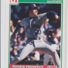 Mike Gardiner RC Baseball Trading Card 1991 Score #721 Mariners
