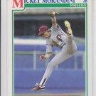 Mickey Morandini RC Baseball Trading Card 1991 Score #376 Phillies QTY