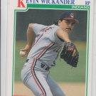 Kevin Wckander RC Baseball Trading Card 1991 Score #355 Indians