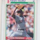 Efrain Valdez RC Baseball Trading Card 1991 Score #723 Indians