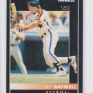 Jeff Bagwell Baseball Trading Card 1992 Pinnacle #70 Astros