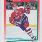 Kelly Miller Hockey Trading Card 1991-92 Score Canadien English #81 Capitals
