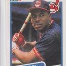 Joey Belle RC Trading Card Single 1990 Fleer #485 Indians