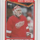 Glen Hanlon Hockey Trading Card 1990-91 Topps #266 Red Wings NM