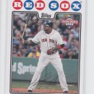 David Ortiz Trading Card Single 2008 Topps National Baseball Card Day #4 Red Sox
