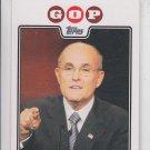 Rudy Giuliani Campaign 08 Insert 2008 Topps #CO8-BG Republican