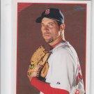 John Smoltz Trading Card Single 2009 Topps #355A Red Sox