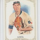 Colby Lewis SP Trading Card Single 2012 Topps Allen & Ginter #341 Rangers