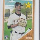 Pedro Ciriaco RC Baseball Trading Card Single 2011 Topps Heritage #229 Pirates