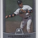 Robinson Cano  Baseball Trading Card Single 2010 Bowman Platinum #72 Yankees
