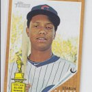 Starlin Castro Trading Card Single 2011 Topps Heritage #25 Rockies 2nd Year Cup