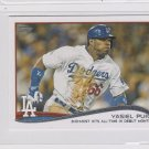 Yasiel Puig Trading Card CL 2014 Topps Mini Exclusives #552 Dodgers