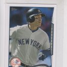 Jacoby Ellsbury Trading Card 2014 Topps Mini Exclusives #650 Yankees