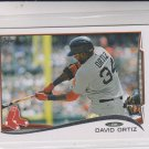 David Ortiz Trading Card 2014 Topps Mini Exclusives #475 Red Sox