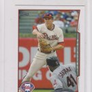 Chase Utley Trading Card 2014 Topps Mini Exclusives #502 Phillies